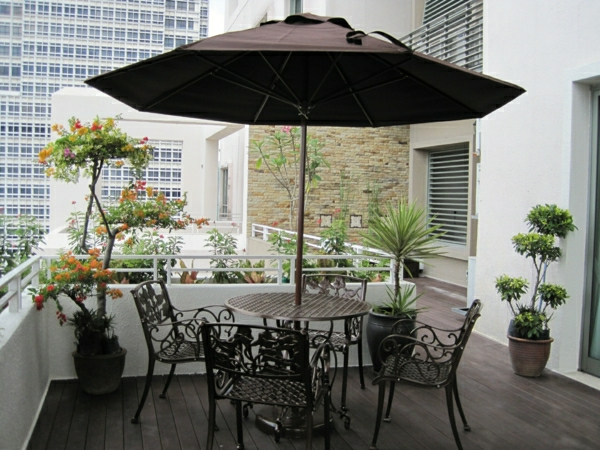 Beautiful Schone Balkon Und Terrasse Gestaltung Akzente Photos ...
