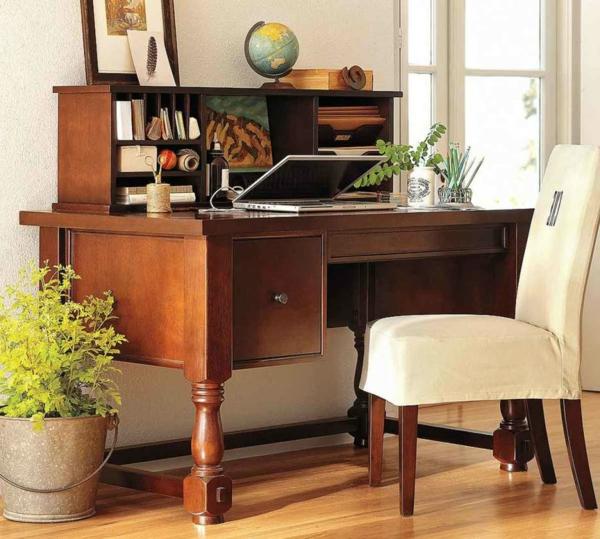 coole pflanzen im zimmer mit einem büro