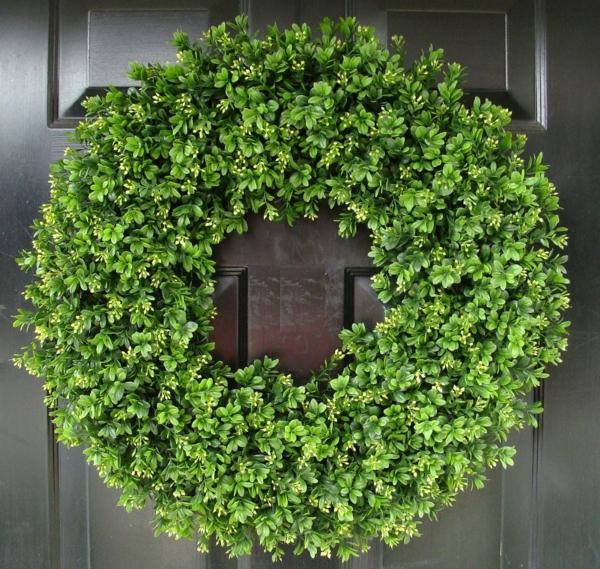 türkränze-frühling-grüne-farbe