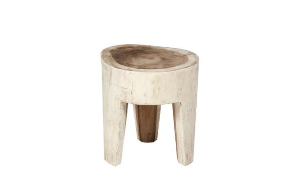 teak-hocker-weißes-modell-auf-drei-beinen