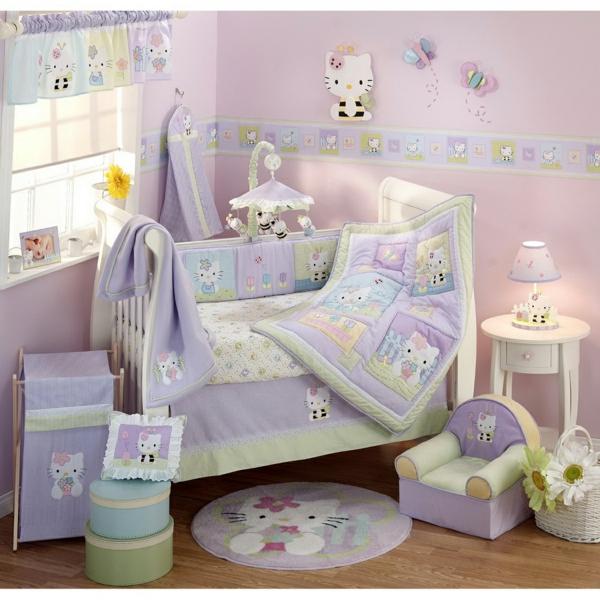 Baby bettw sche 100 super sch ne beispiele - Hello kitty babyzimmer ...
