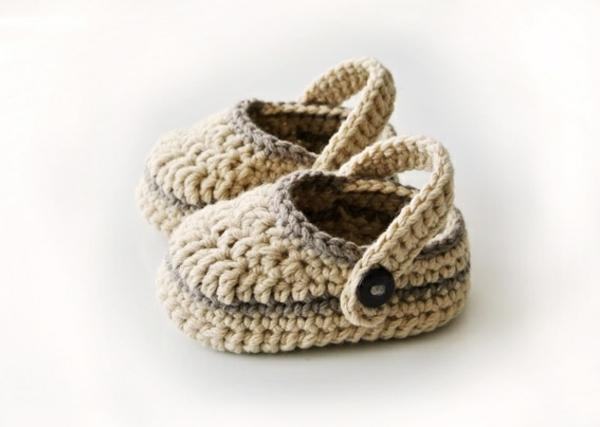tolles-design-häkeln-babyschuhe-fantastische-ideen-für-häkeleien-in-beige