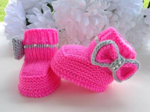 tolles-design-häkeln-babyschuhe-fantastische-ideen-für-häkeleien-in-rosa