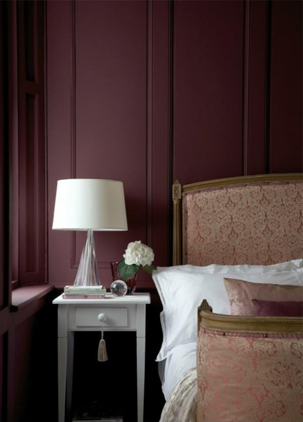 trend  farbe-marsala-für-die-wand-im-schlafzimmer-ein sehr schönes und süßes bild