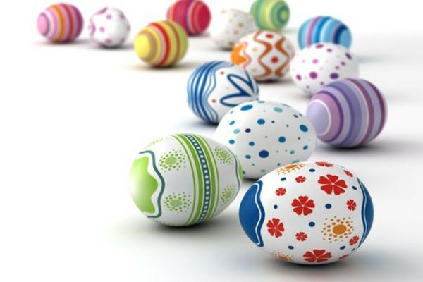 Ostereier färben - 25 wunderschöne Ideen! - Archzine.net
