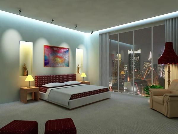 wunderbares-Schlafzimmer-gestalten-schöne-Beispiele-Beleuchtung-Schlafzimmer