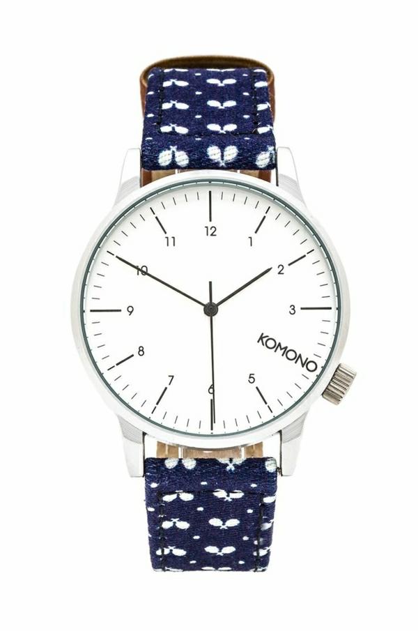 wunderbares-modell-armbanduhr-damen-uhren-kaufen-blau-