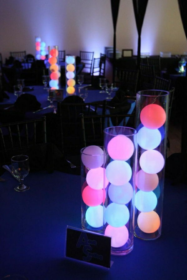 Farbwechsel-LED-Deko-Bälle