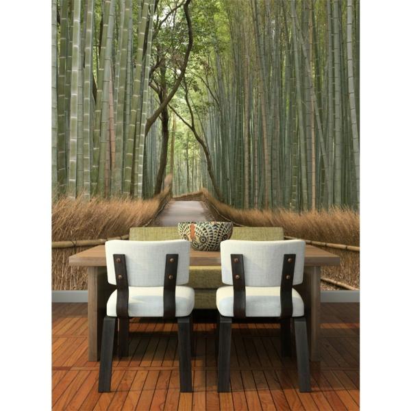 40 ideen mit fototapete wald lassen sie die natur ins. Black Bedroom Furniture Sets. Home Design Ideas