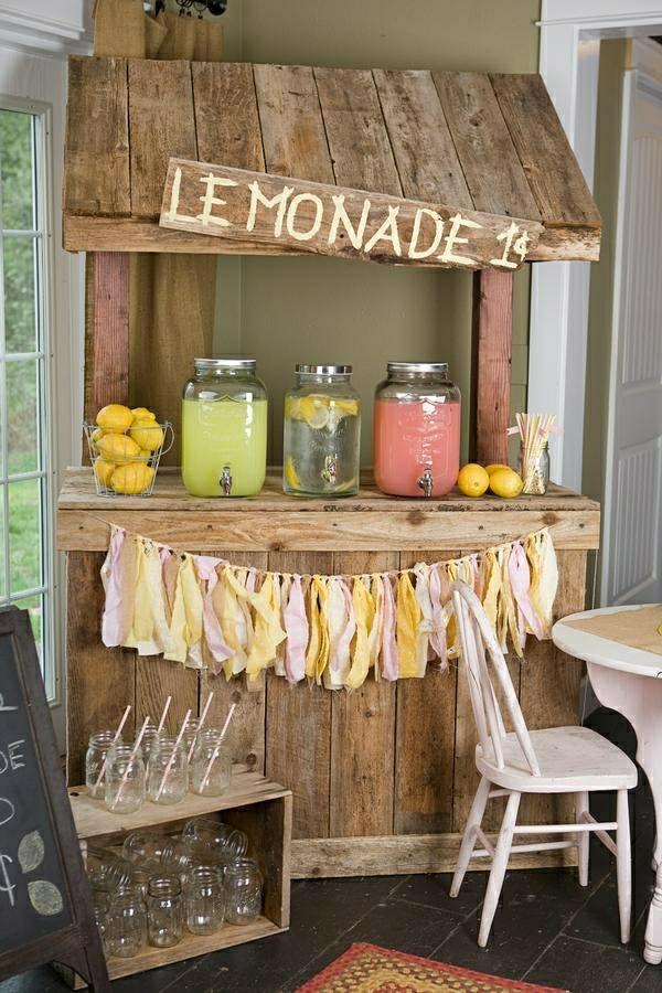 Limonade-Kiosk