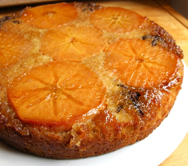 Persimmon-Upside-Down-Kuchen