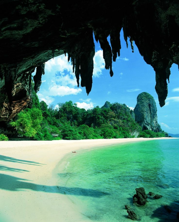 Phra-Nang-Strand-Krabi Rayavadee-Resort and-Spa-Thailand Rundreise
