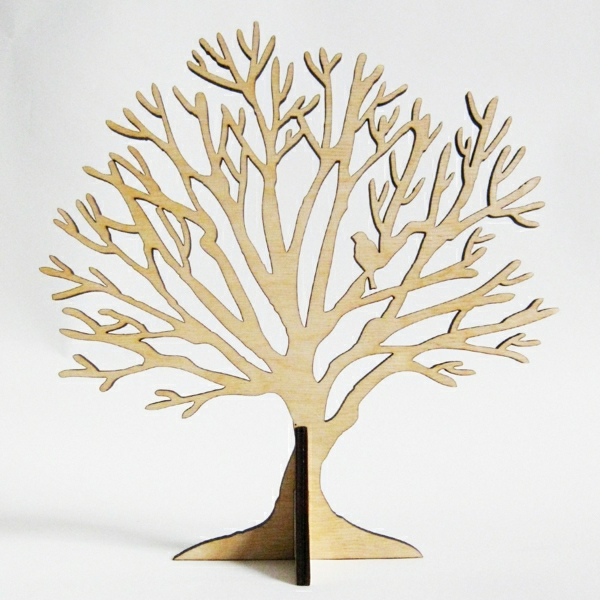 Ständer-Holz-Baum-Vogel-Ästen