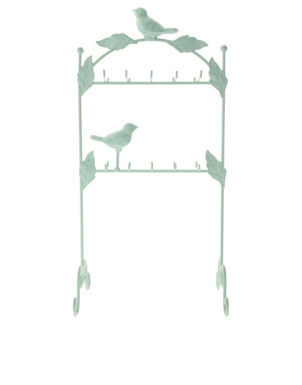 Ständer-zwei-Reihen-Schmuck-Milchglas-Vögel-Laub