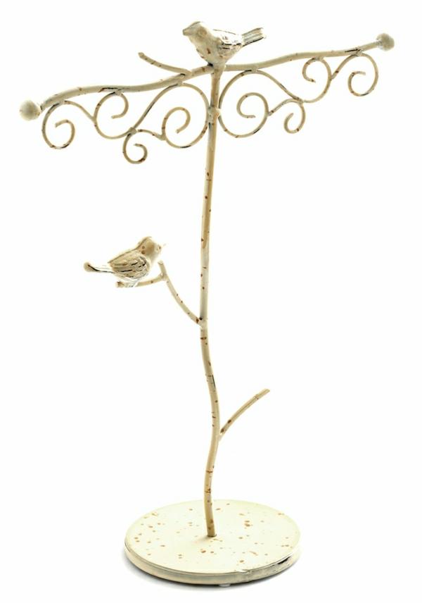 Ständer-weiß-Birke-Vögel-Haken