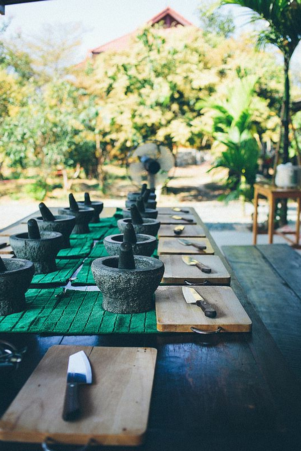 Thai Farm-Cooking School, Chiang Mai, Thailand