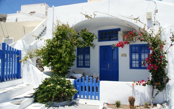 Thira-Haus-in-Santorini