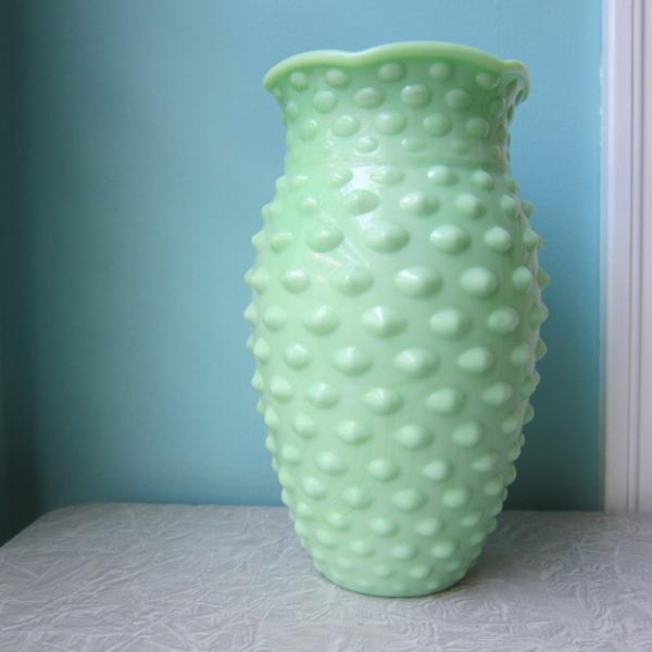 Vintage orientalische Milchglas