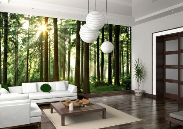 fototapete wohnzimmer ? marauders.info - Fototapete Wohnzimmer Schwarz Weiss