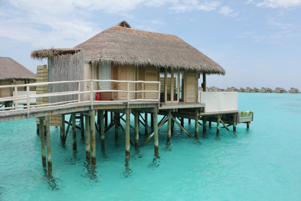 Urlaub auf den Malediven Villa