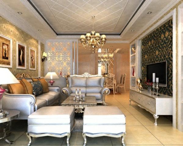 aristokratisch-wirkendes-wohnzimmer