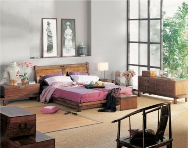 Einrichtungsideen Schlafzimmer Asiatisch ~ Wohndesign & Möbel Ideen