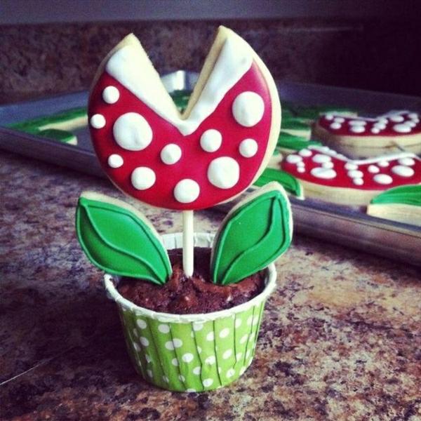 attraktive-cupcakes-verzieren-ideen-für-cupcakes-dekoration