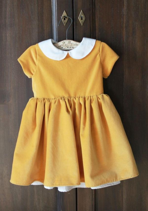 babykleid-gelbe-kleider-trendiges-design-moderne-kleider-sommerkleider