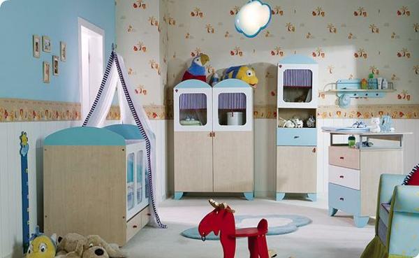 babyzimmer-junge-schöne-gestaltung-in-hellen-farben