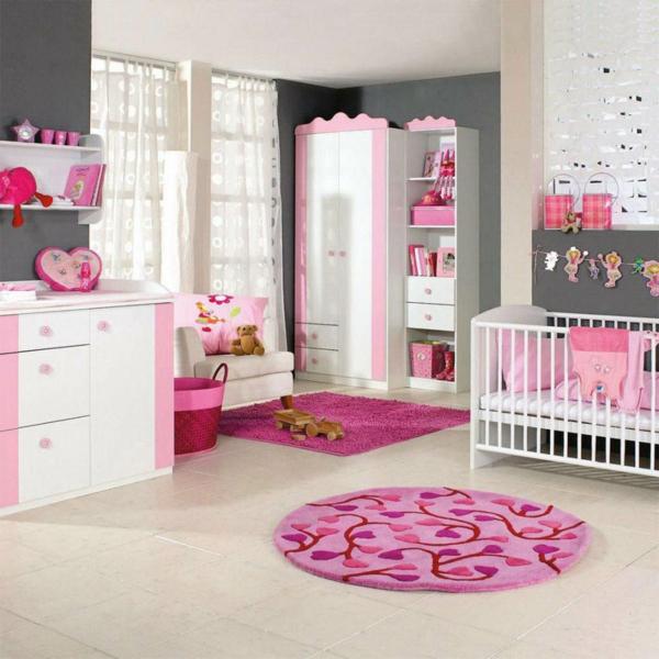 -babyzimmer-mädchen-babyzimmer-gestaltung- babyzimmer-einrichten Babyzimmer gestalten