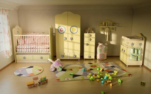 babyzimmer-möbel-babyzimmer-deko-babyzimmer-ideen--