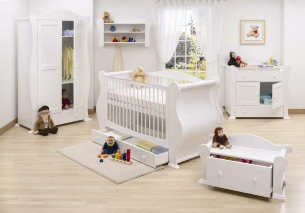 babyzimmer-möbel-babyzimmer-deko-babyzimmer-ideen---Babyzimmer gestalten