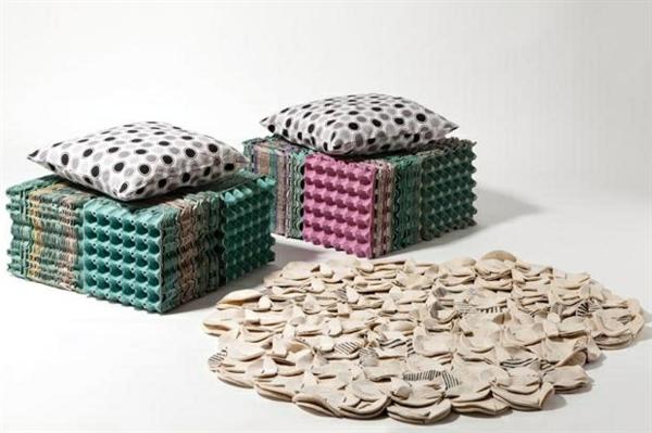 basteln-mit-karton-hocker-und-teppich