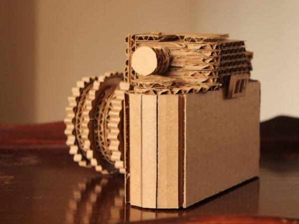 54 Super Ideen Für Basteln Mit Karton Archzinenet