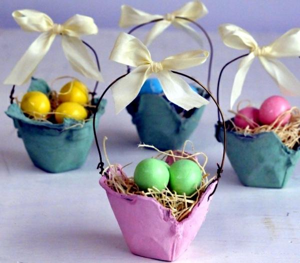basteln-mit-karton-körbe-mit-ostern-eiern