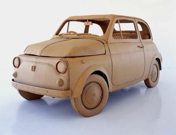 basteln-mit-karton-schönes-auto
