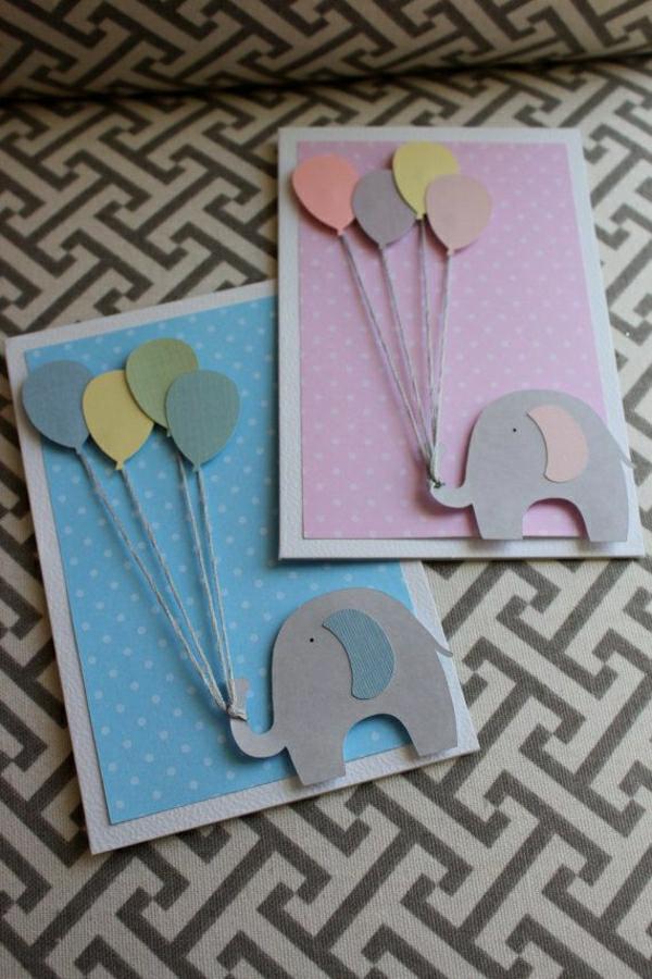 basteln-mit-papier-karten-selber-machen-diy-karten-basteln-schöne--originelle-ideen