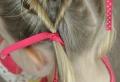 45 wunderschöne Frisuren für kleine Mädchen!