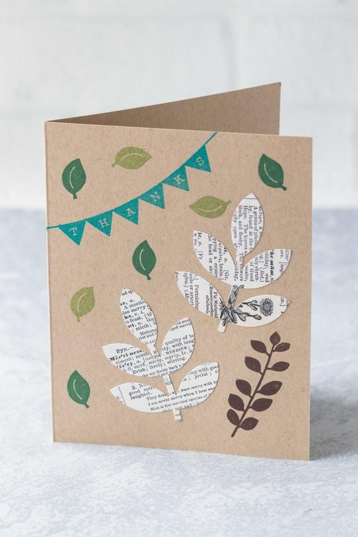 blumen karte basteln babykarte basteln pop up karte mit blumen selber machen diy dankeskarte basteln