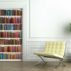 Fototapete Bücherwand - intelligente Entscheidung