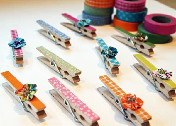 bunte-wäscheklammer-bastelideen-mit-wäscheklammer-cooles-design-ideen---