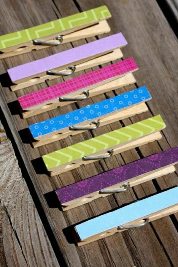 bunte-wäscheklammer-bastelideen-mit-wäscheklammer-cooles-design