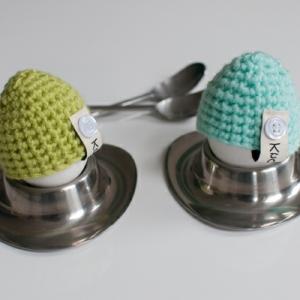 Eierwärmer häkeln - 35 coole Vorschläge für Ostern!