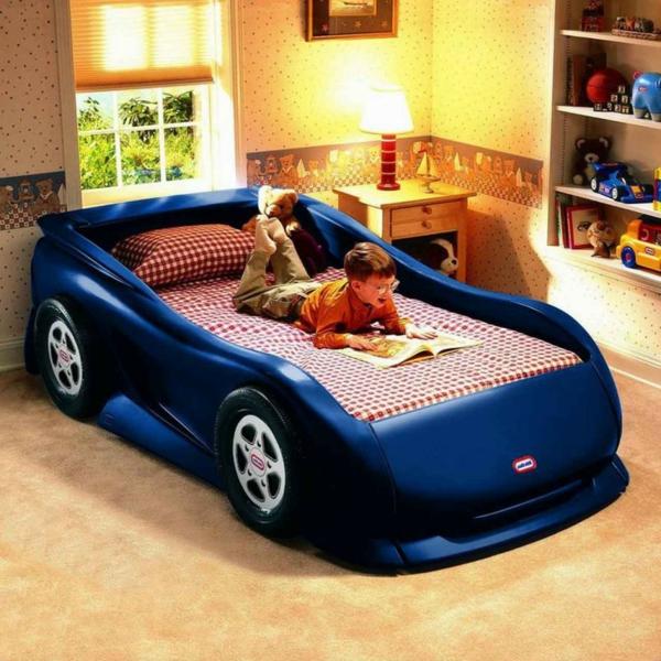 coole-geschenke-für-jungs-bett-design-wie-ein-auto-aussehen
