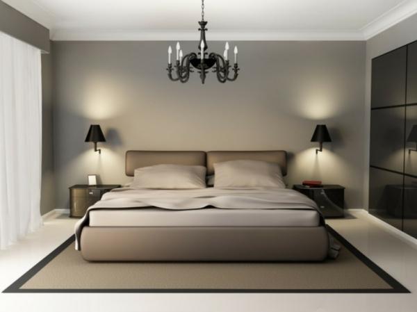 coole-schlafzimmer-deko-interessanter-kronleuchter
