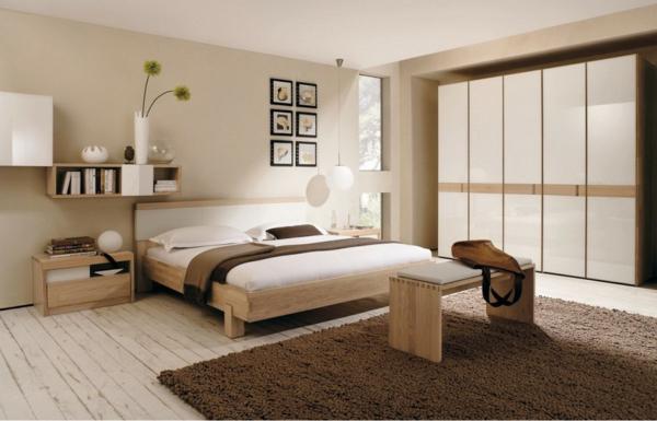 die idee fr schlafzimmer dekorieren wand mit der 105 bilder ...