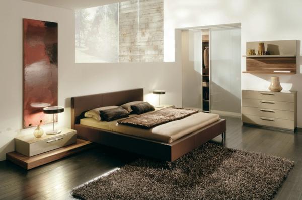 coole-schlafzimmer-deko-schöner-teppich