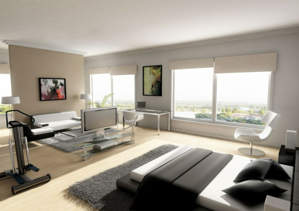 coole-schlafzimmer-deko-weiß-und-schwarz-kombinieren
