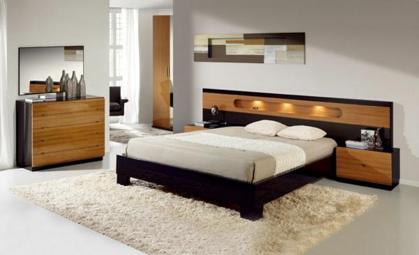 coole-schlafzimmer-deko-weißer-teppich-schönes-bett