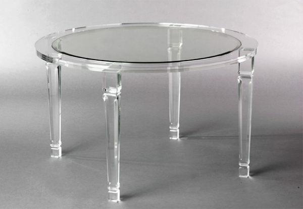 Acryl esstisch rund design inspiration for Acryl tisch